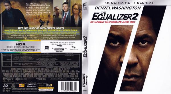 The equalizer 2 4K (blu-ray)