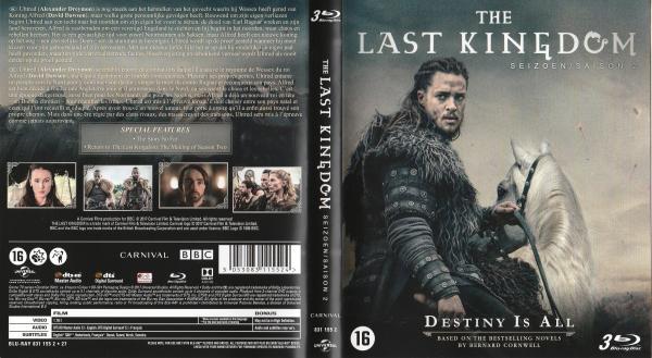 The last kingdom saison 2 blu-ray