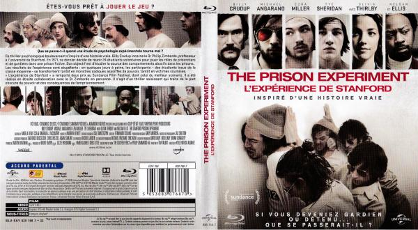 The prison experiment l'experience de stanford (blu-ray)