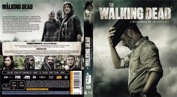 The walking dead saison 9 (blu-ray)