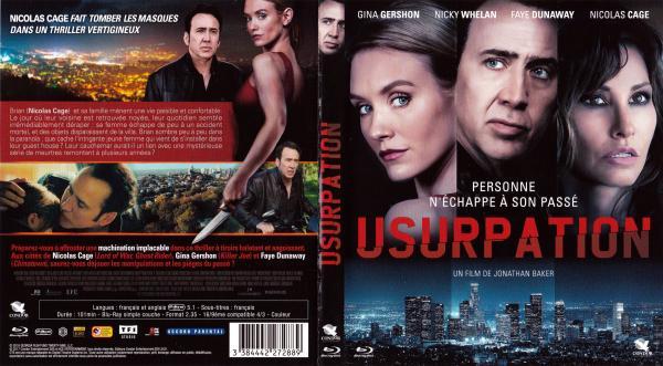 Usurpation (2016) (blu-ray)