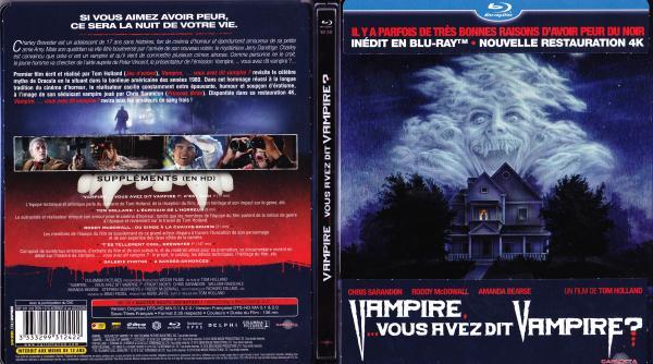 Vampire vous avez dit vampire blu-ray