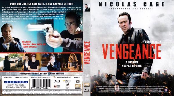 Vengeance (2017) (blu-ray)