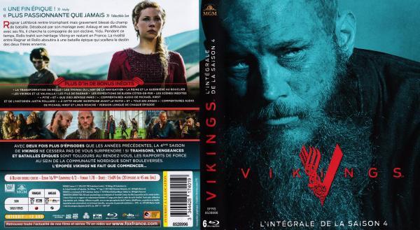 Vikings saison 4 coffret (blu-ray)