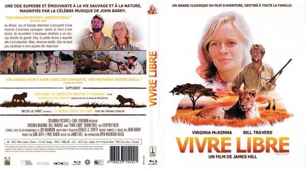 Vivre libre (1965) (blu-ray)