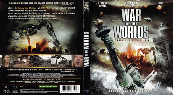 War of the worlds final invasion (blu-ray)
