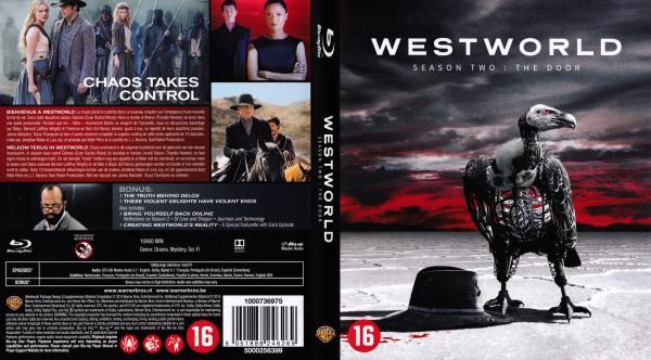 Westworld saison 2 blu-ray