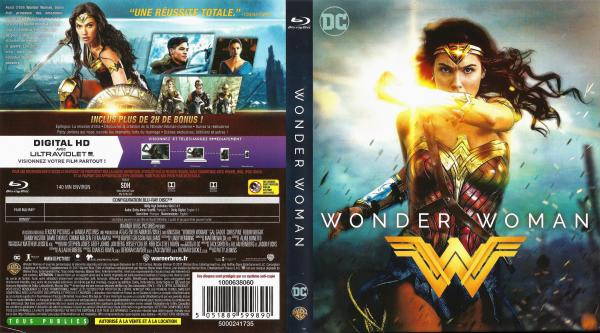 Wonder woman (2017) blu-ray
