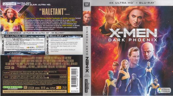 X-men dark phoenix 4k blu-ray