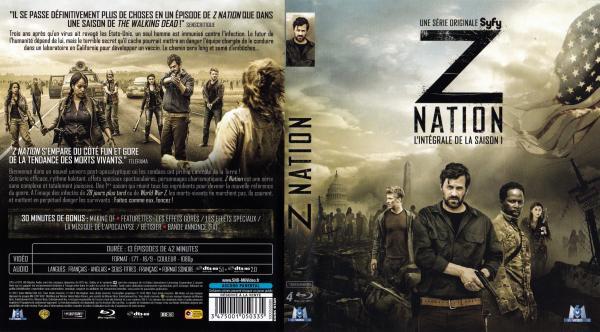 Z nation saison 1 (blu-ray) v2