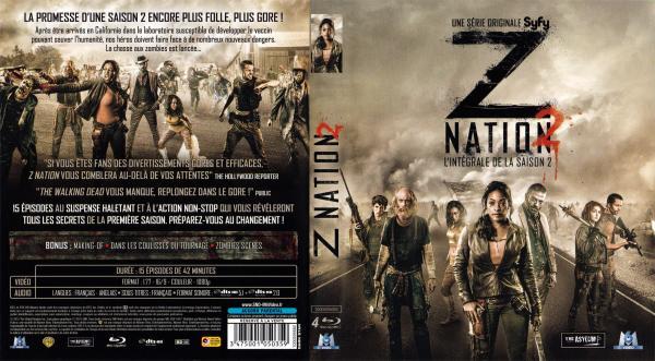 Z nation saison 2 (blu-ray)