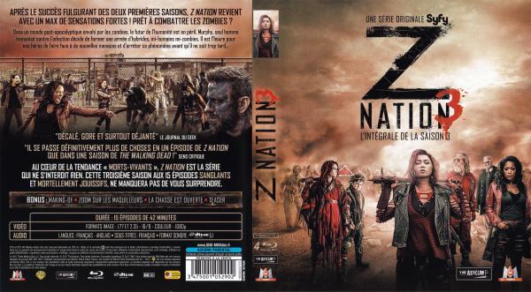 Z nation saison 3 (blu-ray)