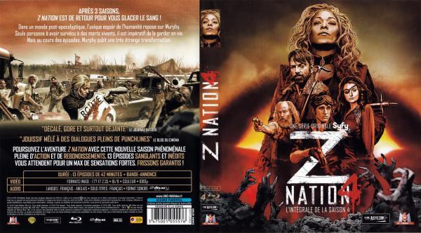 Z nation saison 4 (blu-ray)