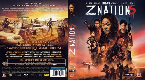 Z nation saison 5 (blu-ray) v2