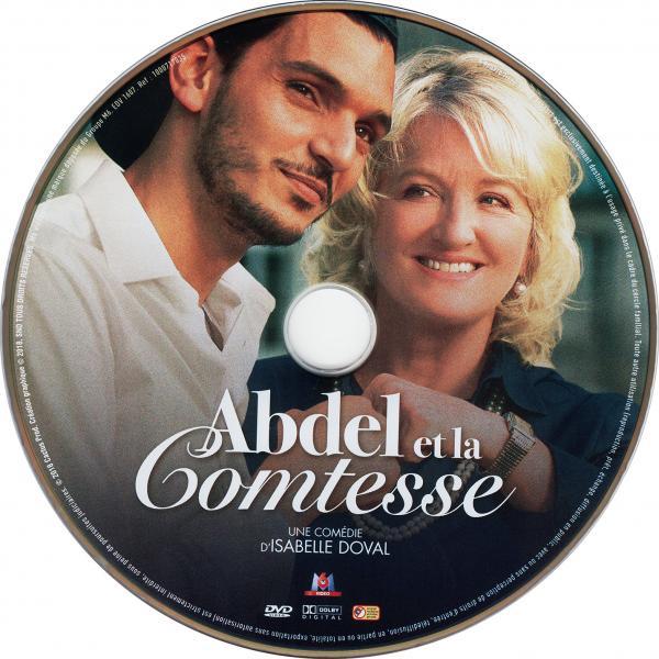 Abdel et la comtesse ( sticker )