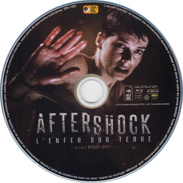 Aftershock (2013) blu-ray sticker