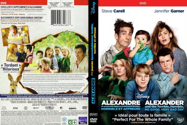 Alexandre et sa journee epouventablement terrible horrible et affreuse