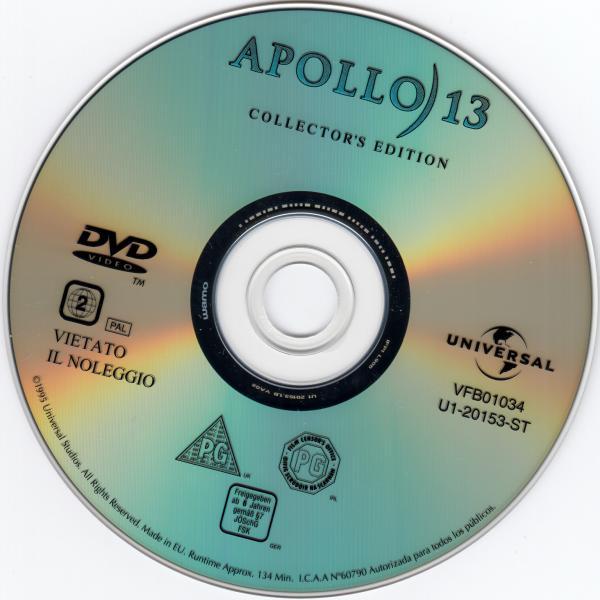 Apollo 13 ( sticker )
