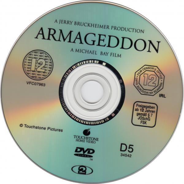 Armageddon v2 ( sticker )