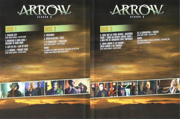 Arrow saison 8 (Inlay)
