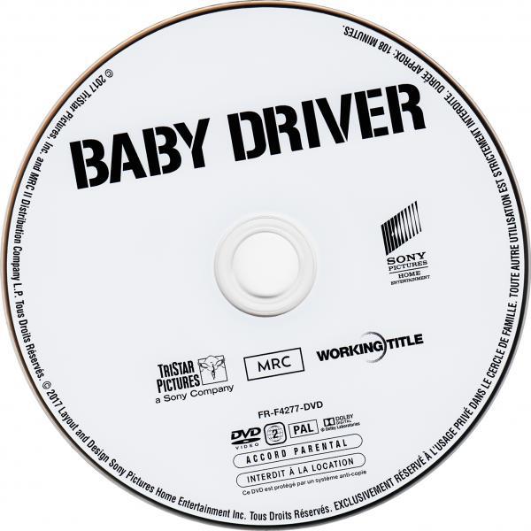Baby driver ( sticker )