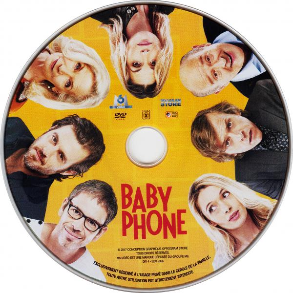 Baby phone (sticker)