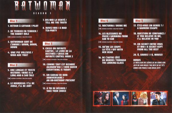 Batwoman saison 1 (Inlay)