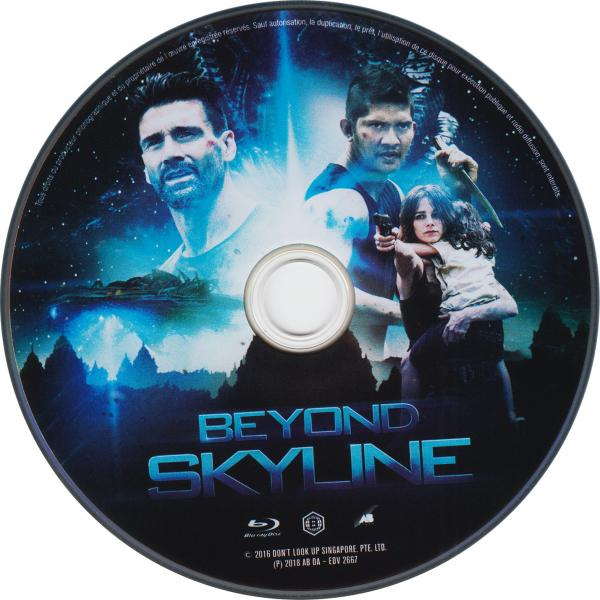 Beyond skyline blu-ray ( sticker )