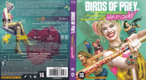 Birds of prey et la fabuleuse histoire de Harley (Blu-ray)