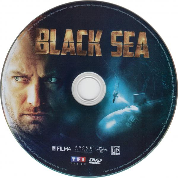 Black sea sticker