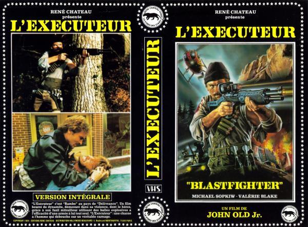 Blastfighter l'executeur VHS