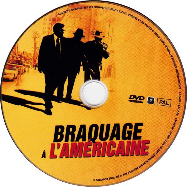 Braquage a l'americaine sticker