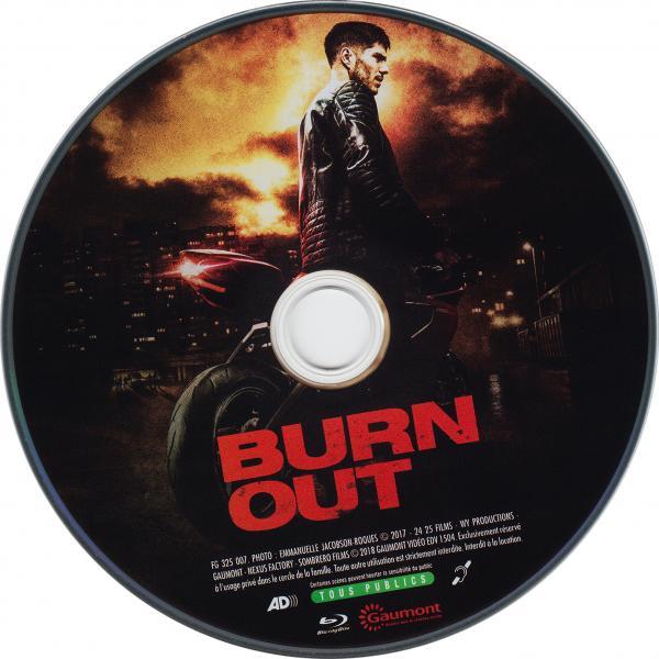 Burn out (blu-ray) (sticker)