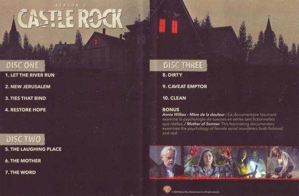 Castle Rock saison 2 (Inlay)