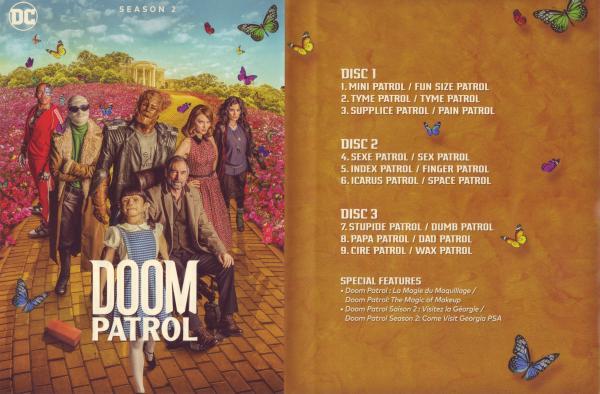 Doom patrol saison 2 (Inlay)