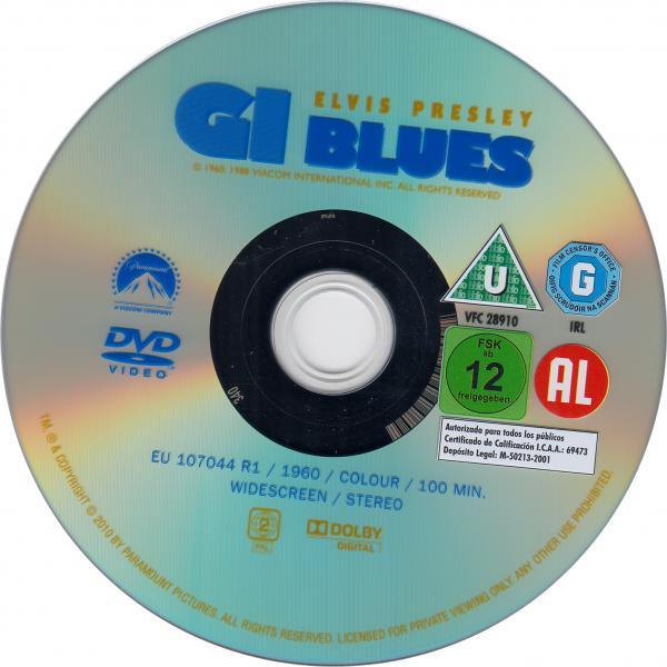 G.I blues ( sticker )