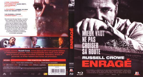 Enragé (2019 - Russell Crowe - Blu-ray)