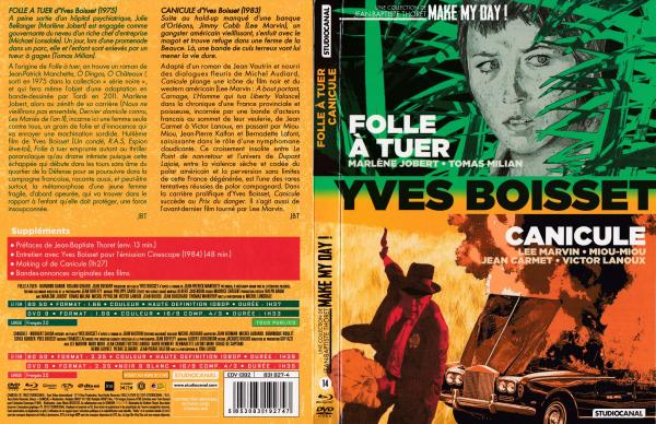 Folle a tuer & Canicule (Combo-Dvd + Blu-ray)