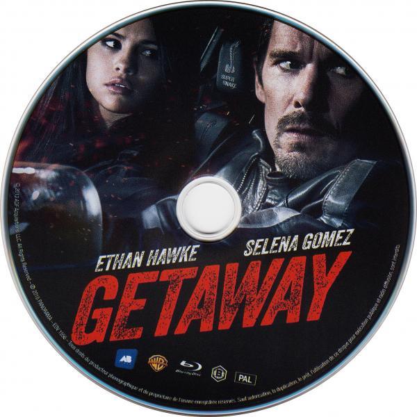 Getaway (blu-ray) ( sticker )