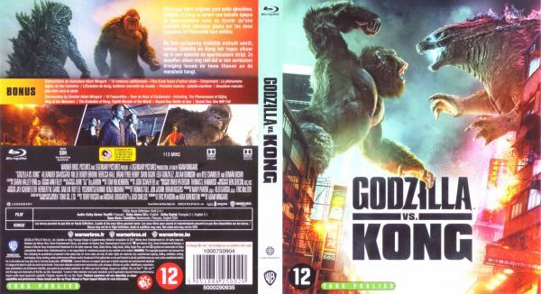 Godzilla Vs Kong (Blu-ray)