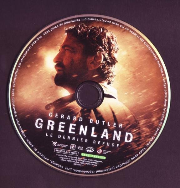 Greenland le dernier refuge (Sticker)