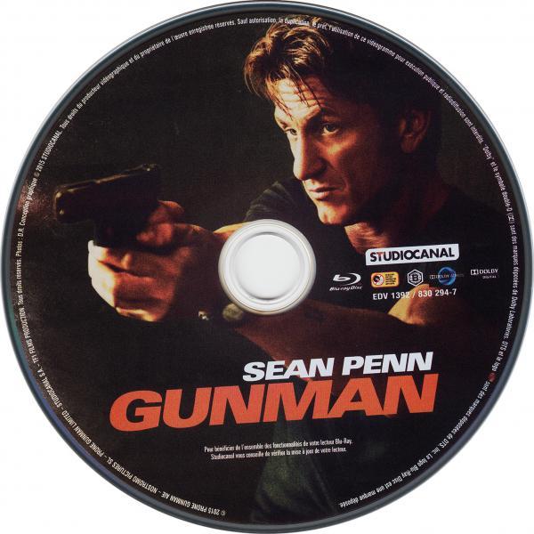 Gunman (sticker)(Blu-Ray)