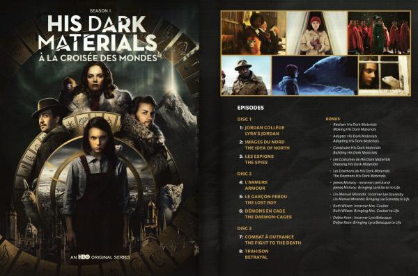 His dark materials Saison 1 (Inlay)