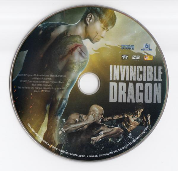 Invincible dragon (Sticker)