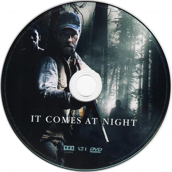 It comes at night (sticker)