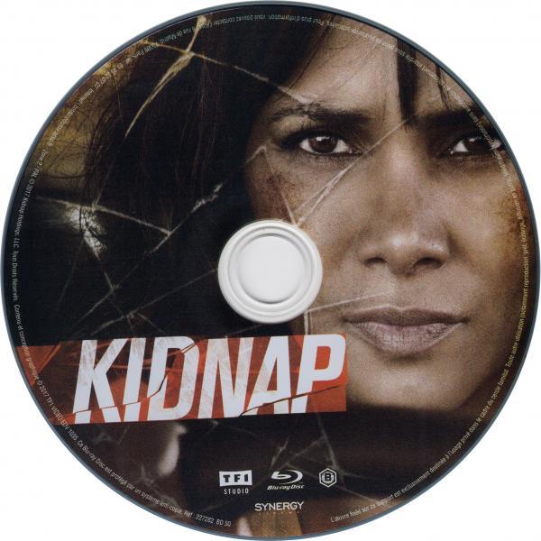 Kidnap blu-ray sticker