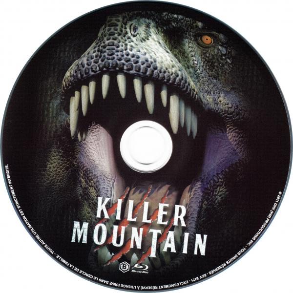 Killer mountain (blu-ray)  sticker