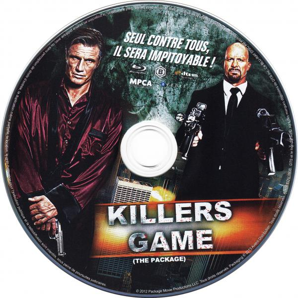 Killers game ( blu-ray )( sticker )