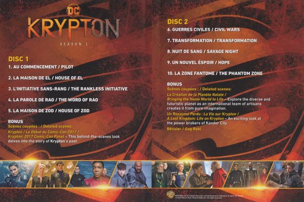 Krypton Saison 1 Inlay