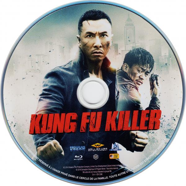 Kung fu killer (sticker)(Blu-Ray)